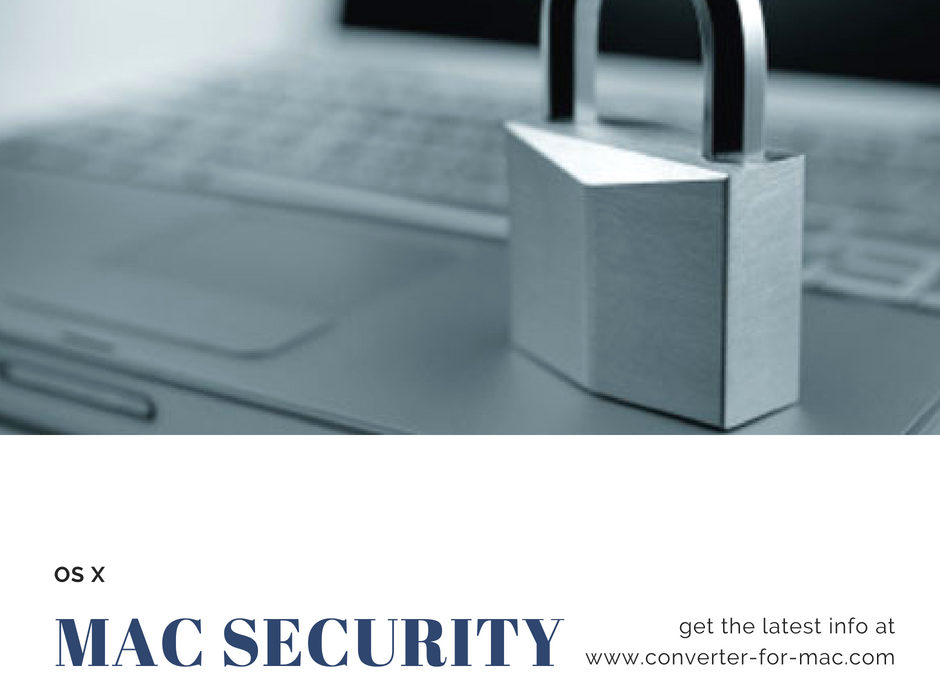Apple & Mac Security OS X